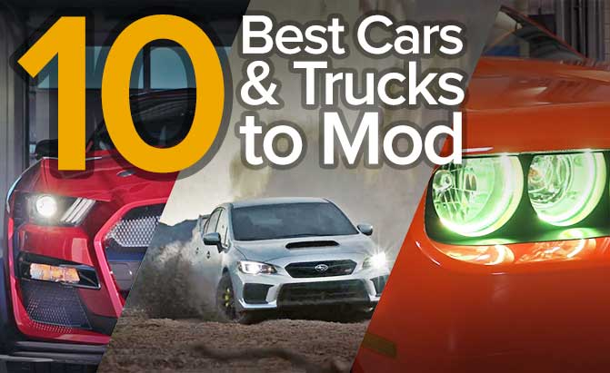 Top 10 Best Cars to Modify