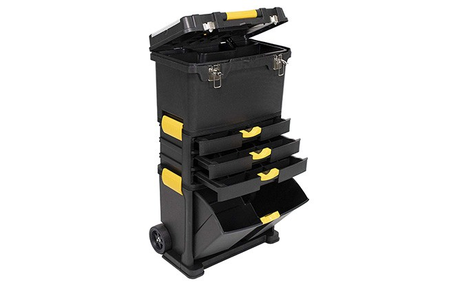 erie tools heavy duty portable tool box