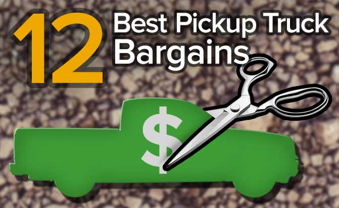 Top 12 Cheapest Pickup Trucks