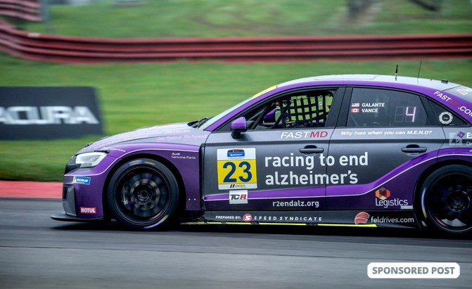 This Audi RS3 is Racing to End Alzheimer's and You Can Help