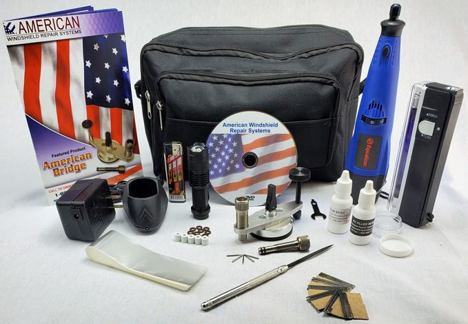 With the Mini Windshield Repair Kit from American Windshield Repair Systems, you're not just buying one of the best windshield repair kits, you're buying a complete windshield repair business.