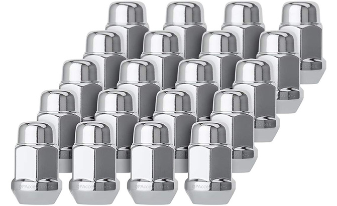 dpaccessories chrome acorn lug nuts
