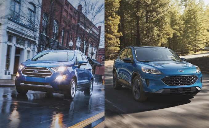 2021 Ford EcoSport vs 2021 Ford Escape