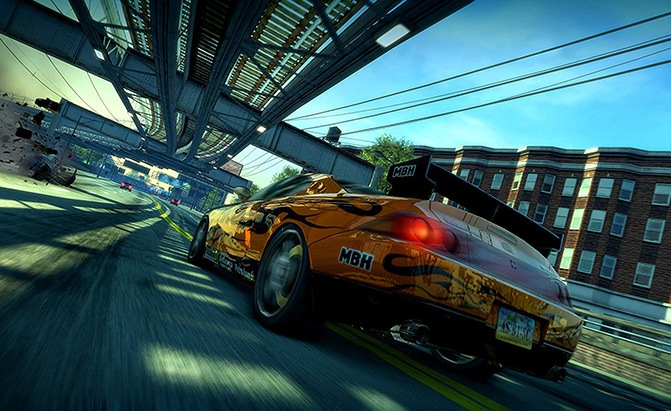 burnout paradise remastered best ps4 racing games