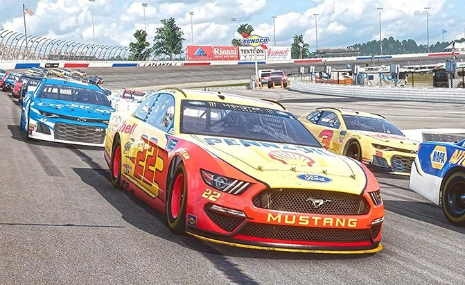 nascar heat 4 best ps4 racing games