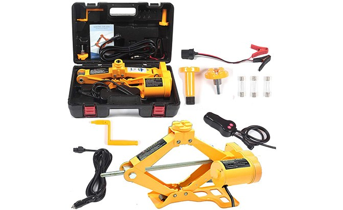 reliancer 3-ton electric floor jack