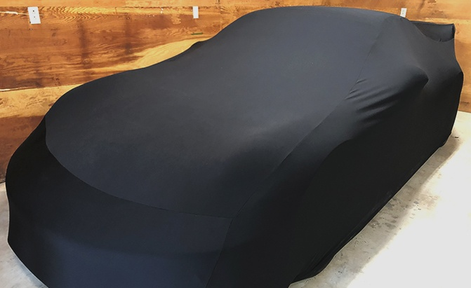 CarCovers.com Indoor Black Satin Shield Car Cover