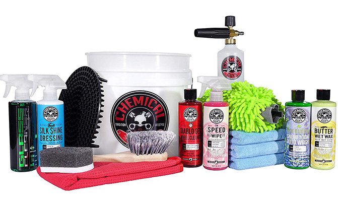 chemical guys 16-piece arsenal builder wash kit