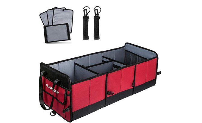 flagpower car trunk organizer