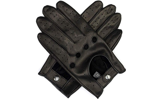 harssidanzar leather best driving gloves