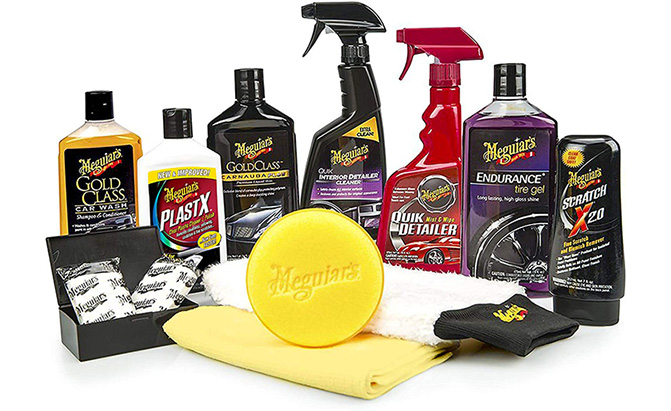 meguiar's complete car kit