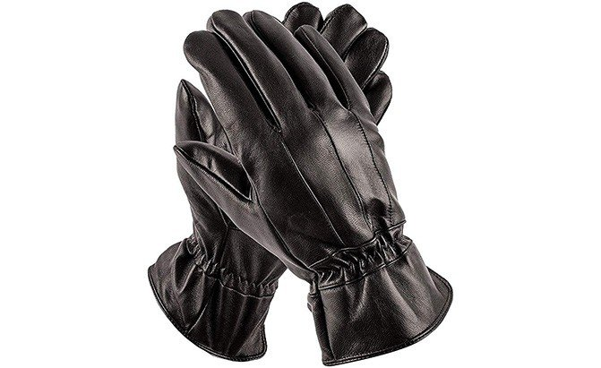pierre cardin leather best driving gloves
