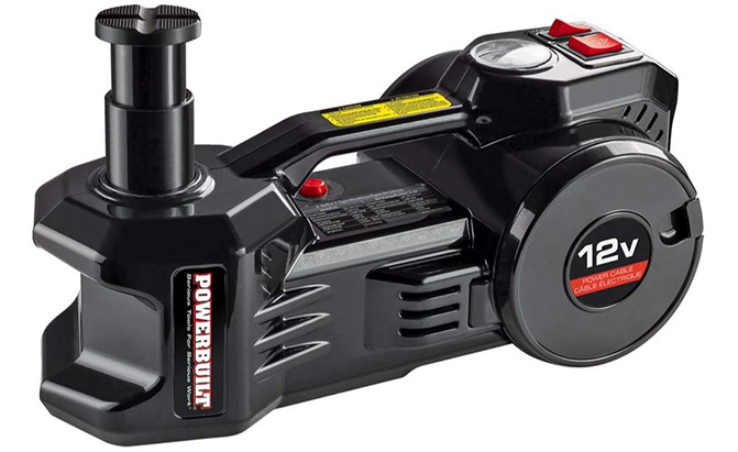 powerbuilt electric jack and tire inflator