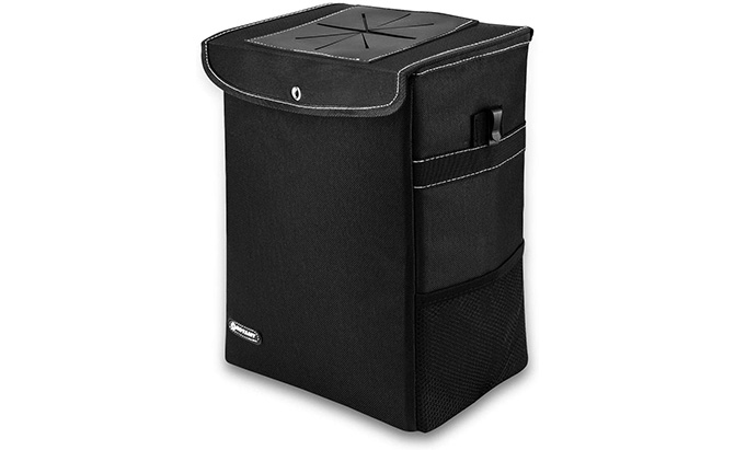 royamy car trash can with lid