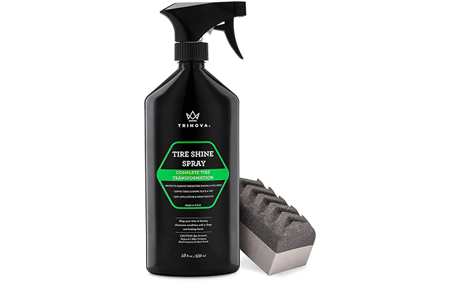 trinova tire shine spray