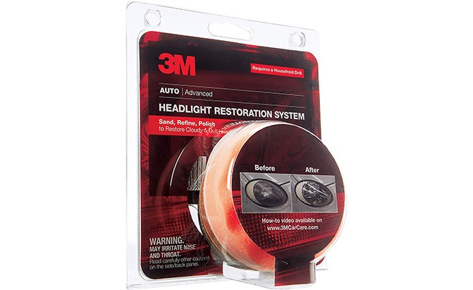 3m headlight restoration system