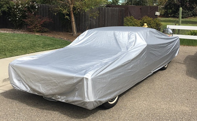 The Platinum Shield Car Cover from CarCovers.com offers top of the line all-weather protection.