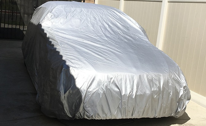 The Platinum Shield Car Cover from CarCovers.com is the company's top-of-the-line option, making it a great fit for BMW owners.