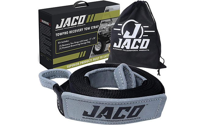 jaco towpro recovery tow strap