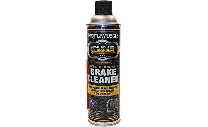 throttle muscle non-chlorinated brake parts cleaner