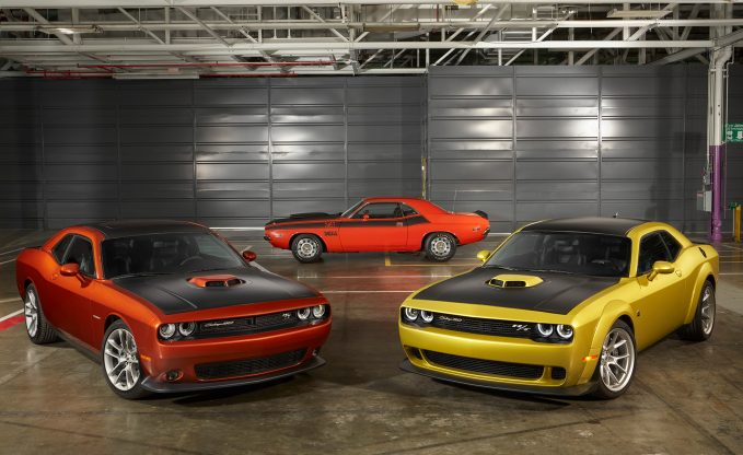 2020 Dodge Challenger 50th Anniversary Edition Group Shot