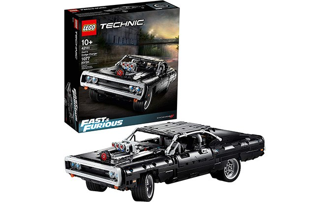 lego technic fast and furious dom's dodge charger