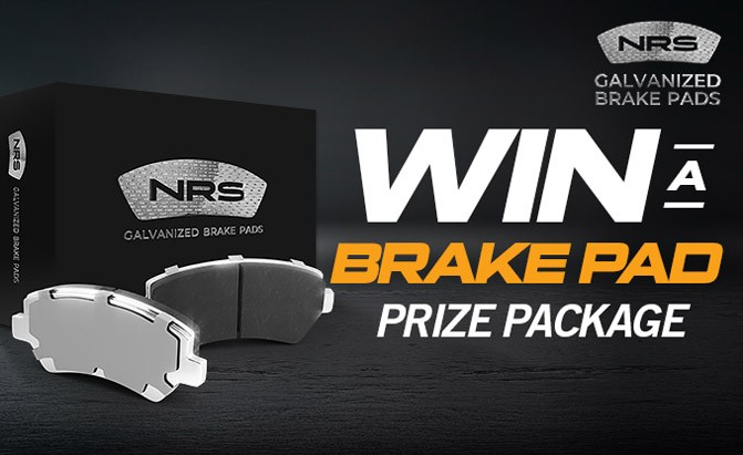 Win a set of commercial vehicle brake pads from NRS Brakes.