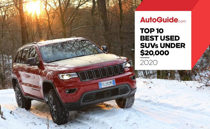 10 best Used SUVs under $20,000