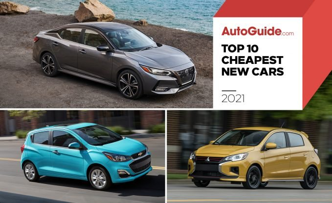 Top 10 Cheapest New Cars To Buy 2021