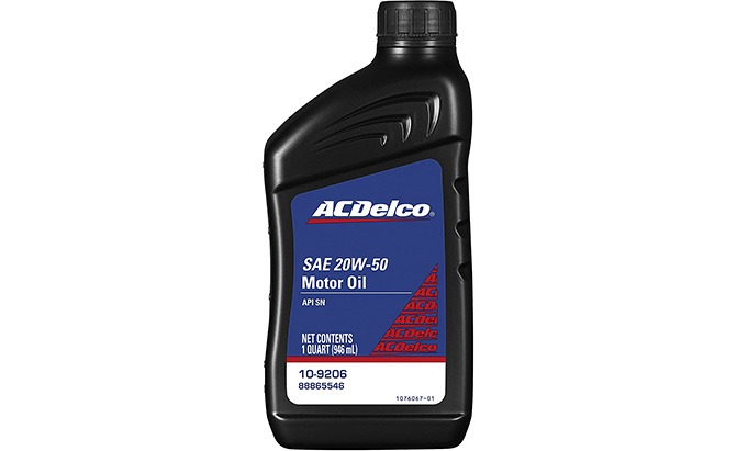 acdelco professional motor oil