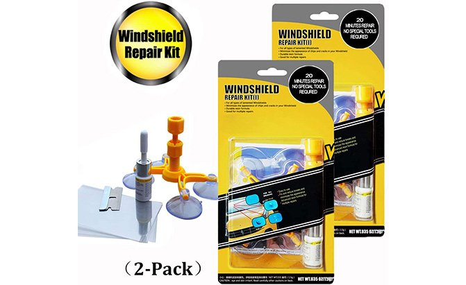 gliston car windshield repair kit