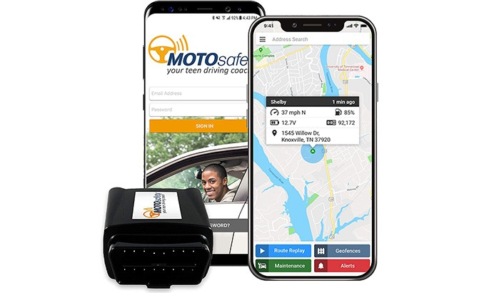 motosafety gps tracker for vehicles