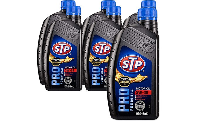 stp conventional motor oil