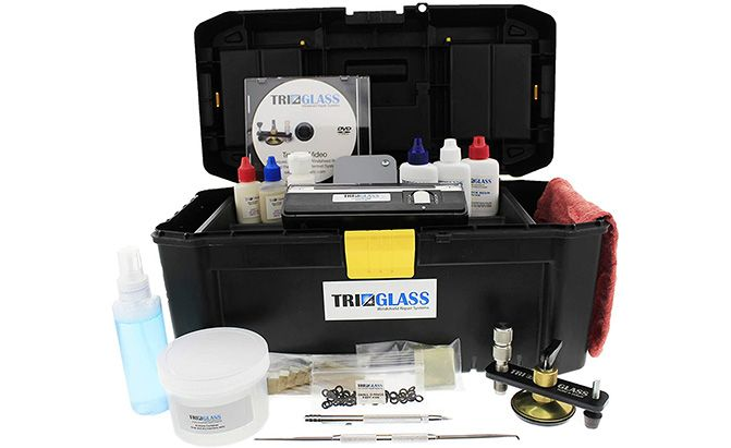 tri-glass quality windshield repair kits