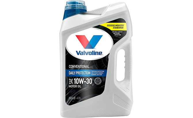 valvoline daily protection conventional motor oil
