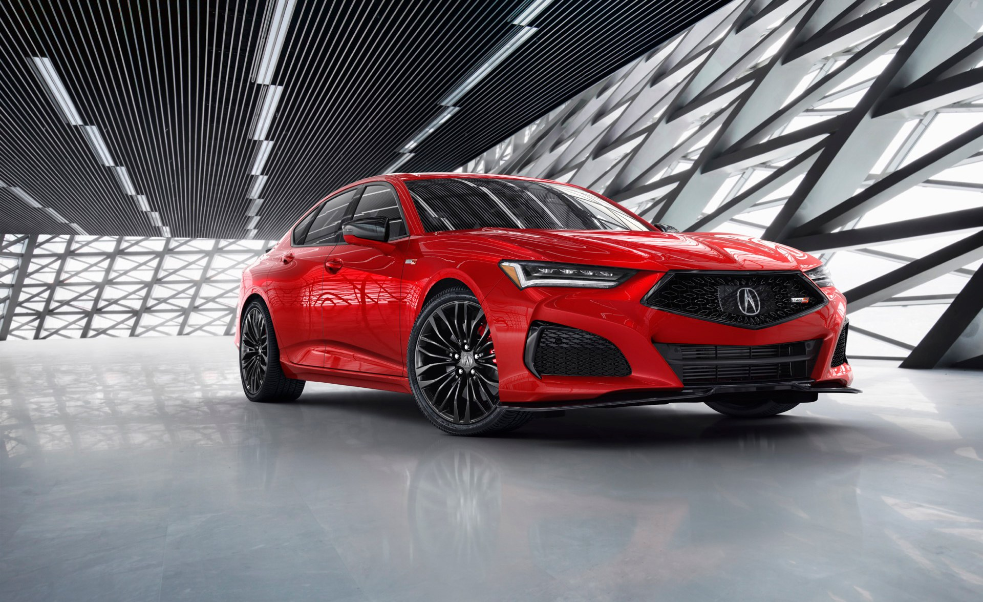 2021 Acura TLX Type S in red