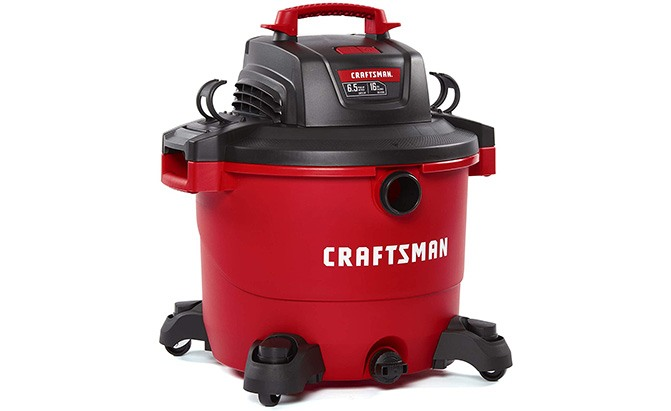 craftsman 16-gallon wet/dry vacuum