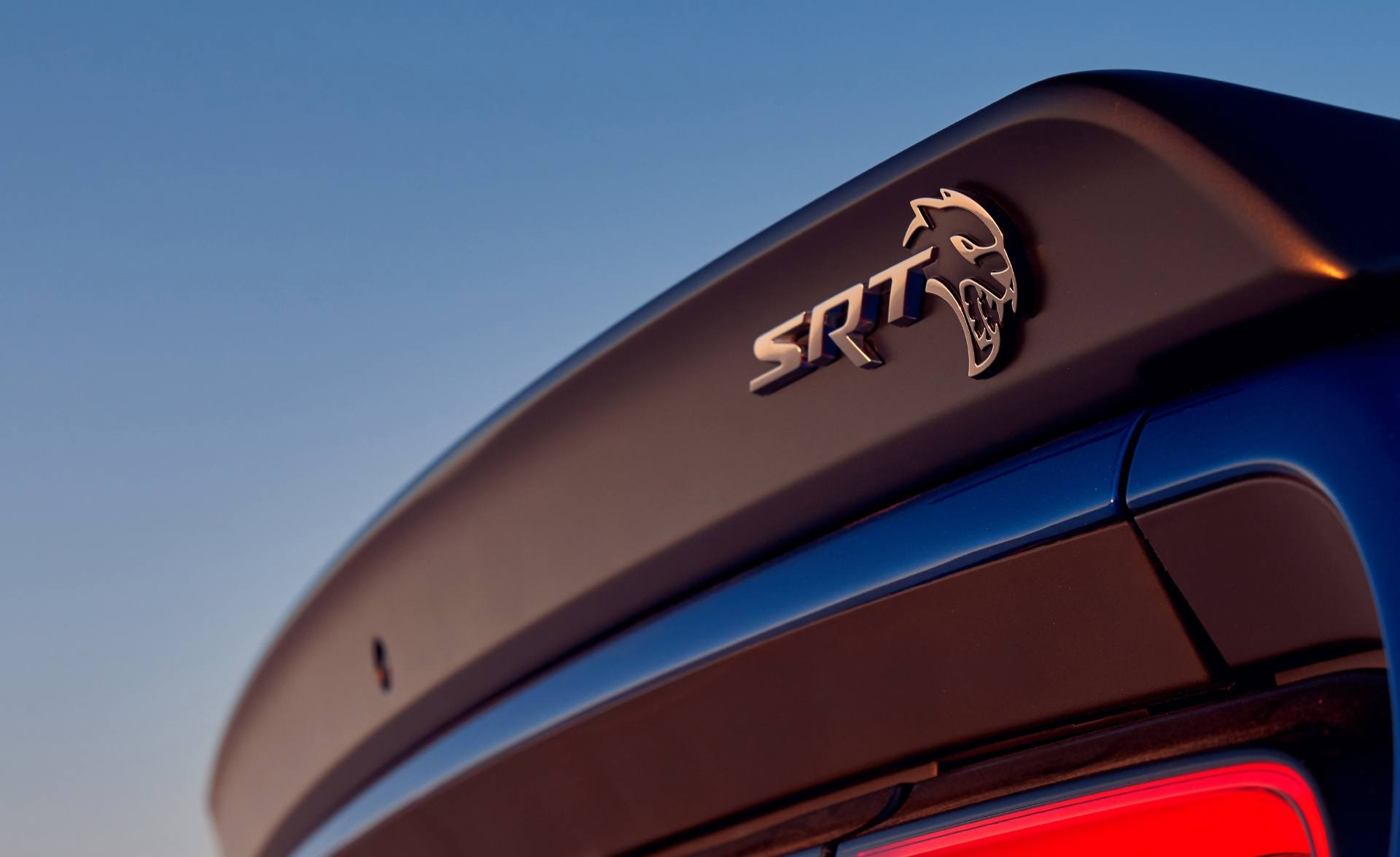 Dodge Challenger SRT Hellcat Badge