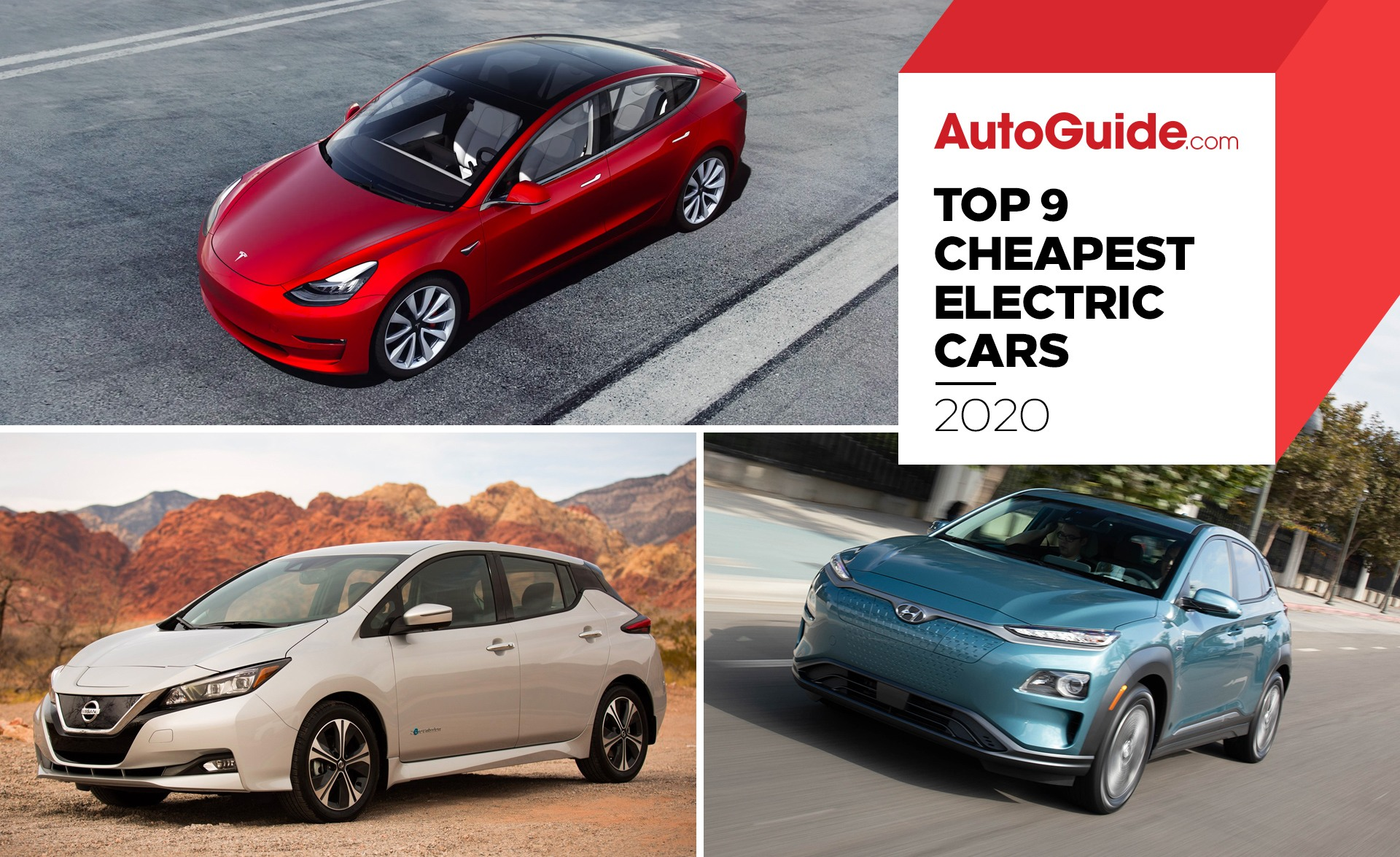 Top 9 Cheapest Electric Cars To Buy Autoguide Com News