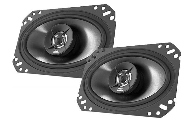 """jbl stage 4x6"""" 2-way coaxial speakers"""