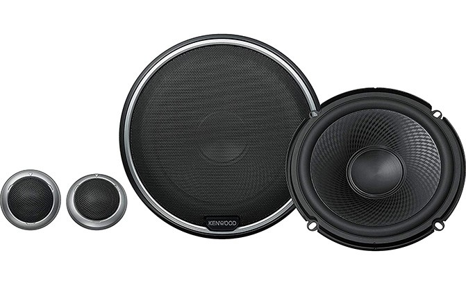 kenwood performance series 2-way component speakers