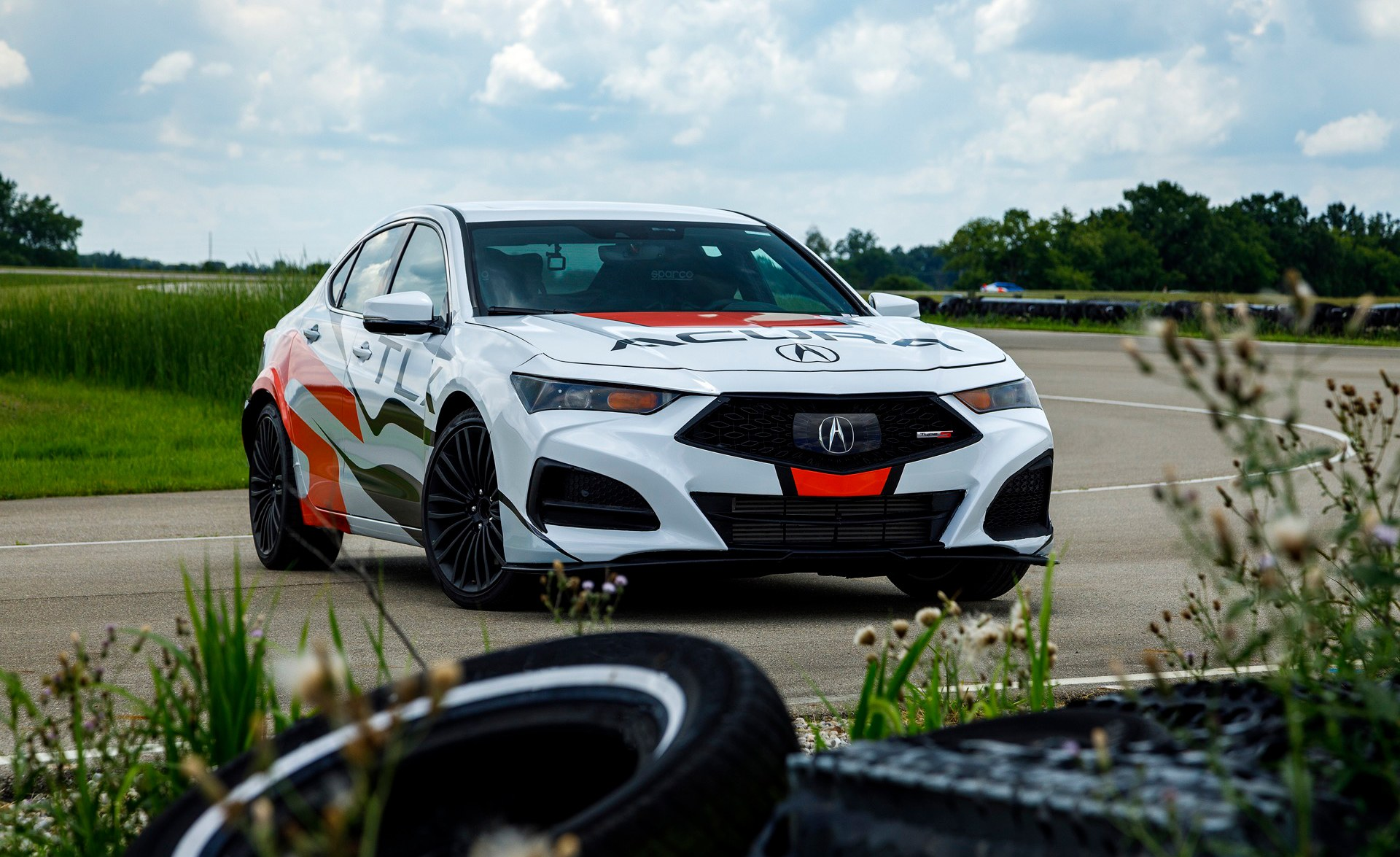 2021 Acura TLX Type S Pikes Peak pace car
