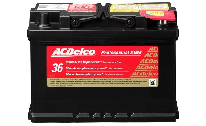ACDelco Professional AGM car audio battery