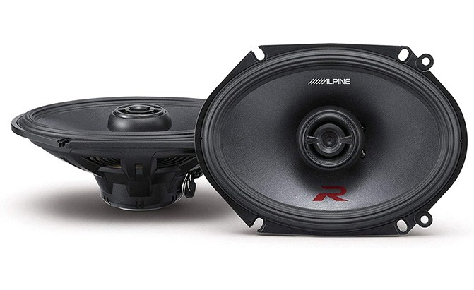 alpine r series 6x8 speakers