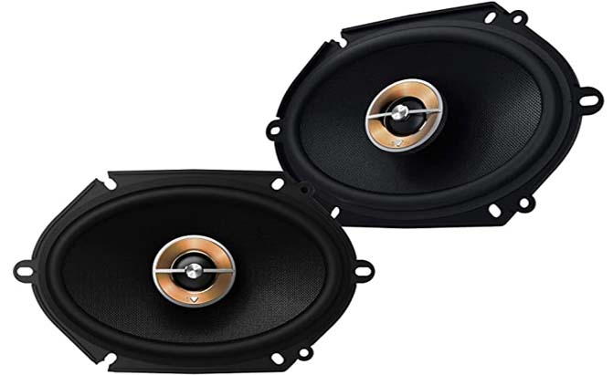 infinity kappa -way 6x8 speakers