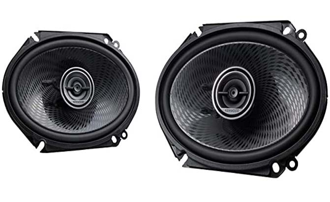 kenwood 6x8 2-way car speakers