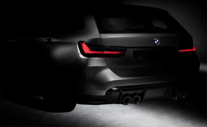 2022 BMW M3 Touring teaser rear