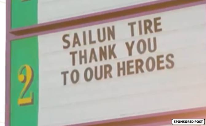 Sailun Tire recently organized a free movie night as a special thank you to those who've worked tirelessly to keep society, the economy and the automotive industry running.