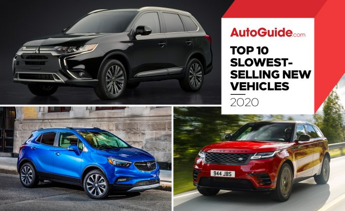 Top 10 Slowest Selling New Vehicles of 2020 according to iSeeCars
