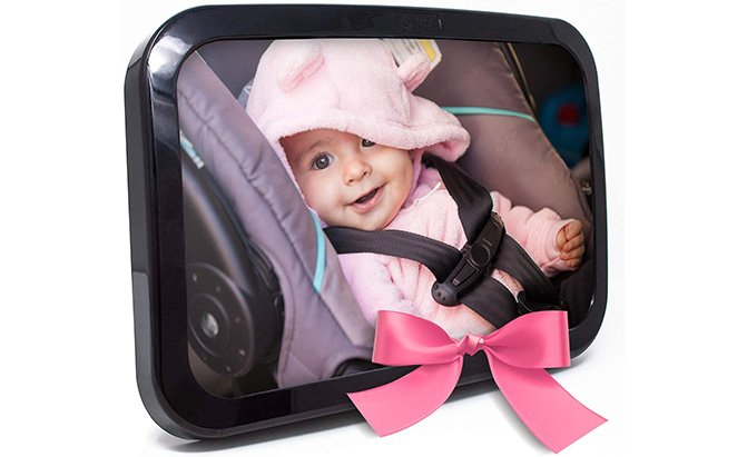 baby & mom backseat baby mirror